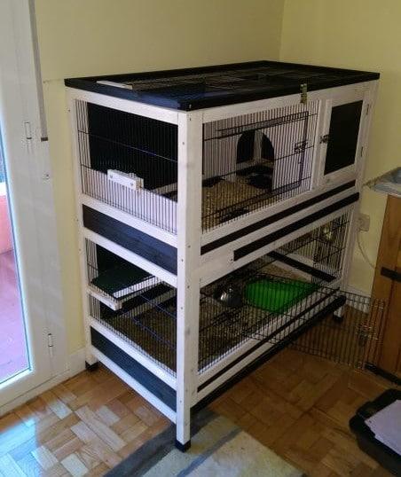 Etagen-Käfig für Meerschweinchen